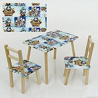 "Столик + 2 стула МИНИ ""Pirates"""