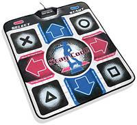 Танцевальный коврик X-treme Dance Pad Platinum для ТВ и ПК (RCA + USB)