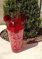 Бутылка Микки Маус (красная)
