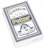 Карты Poker пластик