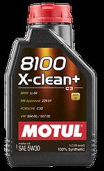 Масла моторные 8100 X-CLEAN+ 5W-30