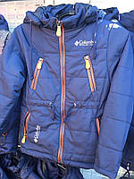 Подростковая куртка ветровка на мальчика Columbia 36-44 рр.