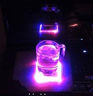 Flash Pad — светодиодная подставка под чашку (бокал)