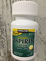 Аспирин Kirkland Aspirin Low dose 81 mg, 365шт