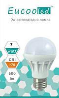 EUСOOLED светодиодная лампа 7 W Е27 6400К