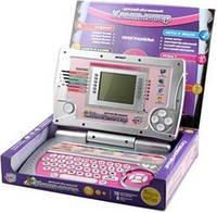 Детский ноутбук компьютер 7005 розовый