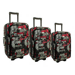 Дорожный чемодан сумка 773 набор 3 штуки kolor 1