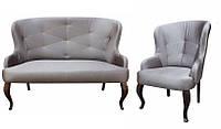 """Классический комплект: диван с креслом """"Имидж"""" (2+1)"""