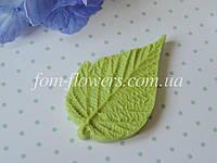 Молд лист малины М, фото 1