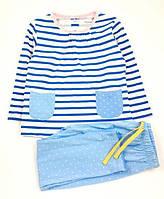 Стильная пижама для девочки Little Maven Морячка (р.92,110)