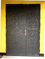 Двери двойные (Плазменная вырезка-Восточный орнамент)