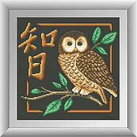 Вышивка камнями Dream Art Мудрость (квадратные камни, полная зашивка) (DA-30450) 32 х 32 см