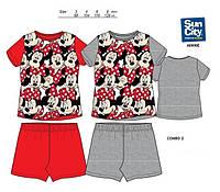 Пижама летняя для девочек Disney Мини Маус