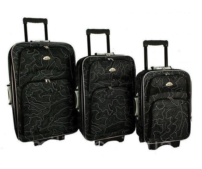Дорожный чемодан сумка 773 набор 3 штуки Wzor