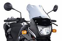 """Ветровое стекло Puig Touring F 650 GS """"04-07 дымчатая тонировка"""