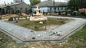 На месте пустыря построили парк для жителей села