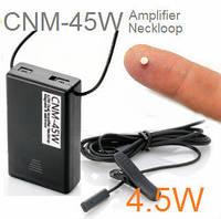 Микронаушник магнит с проводной гарнитурой - петлёй 4.5 Ватт (CNM-45W)