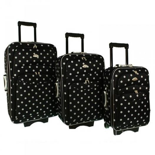 Дорожный чемодан сумка 773 набор 3 штуки kolor 2