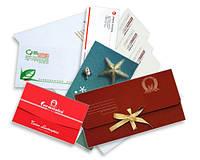 Печать конвертов онлайн А6,С6