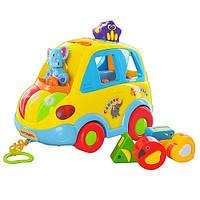 Детская игрушка Play Smart 9198 Машинка-сортер, логика