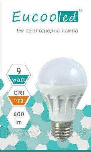 Светодиодная лампа EUСOOLED 9 W Е27 6400К