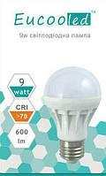 EUСOOLED светодиодная лампа 9 W Е27 6400К