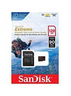 Карта памяти SANDISK EXTREME 128gb Extreme ActionUHS-I V30