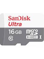 Карта памяти SANDISK ULTRA 16gb microSDHC/microSDXC UHS-I