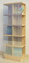 Шкаф Ш82 для виниловых пластинок