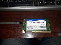 Беспроводный PCI адаптер D-Link AirPlusG+ DWL-G520+