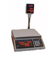Весы торговые со стойкой Днепровес ВТД-15Т2 (3,6,15,30 кг)