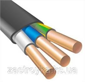 Провод ВВГнг черный 3х4,0 кв.мм (Энерго) только бухтами
