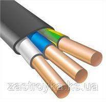 Провод ВВГнг черный 3х2,5 кв.мм (Энерго) на метраж + 30% к цене