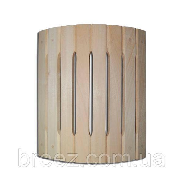 Ограждение светильника полукруглое угловое липа Б
