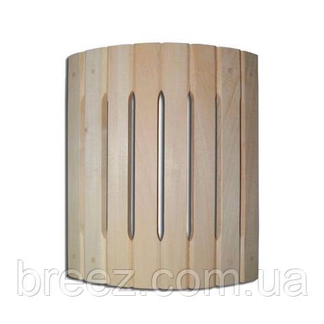Ограждение светильника полукруглое угловое липа Б, фото 2
