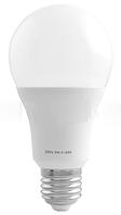 Лампа светодиодная A65 Е27 9W 4100K стандарная- 12 LO