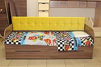 Детская кровать одноместная серии 7-3-1-96