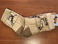 """Махровые носки из верблюжьей шерсти  """"Олени"""""""