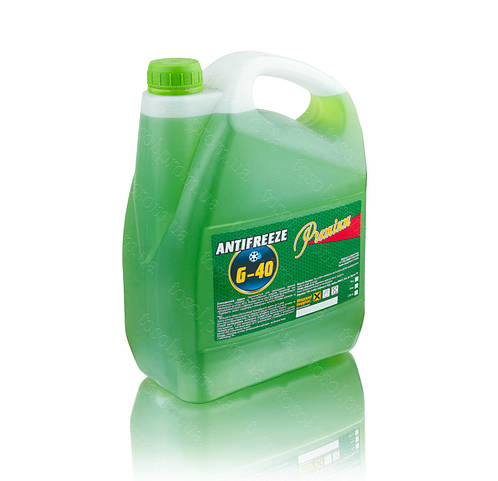 Антифриз G11 (-40) 5кг (зеленый) TM Premium