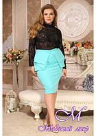 Нарядная женская юбка большого размера (р. 48-90) арт. Бразилия