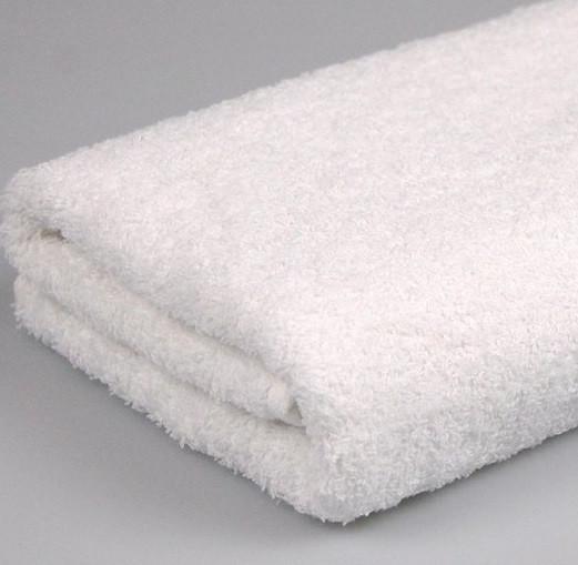 Полотенце махровое 70х140 Белое 500 г/м2 16/1