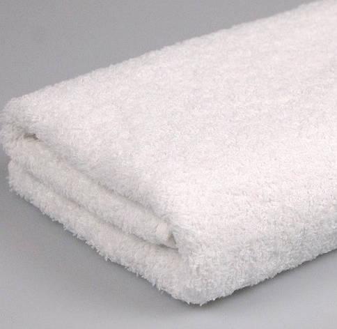 Полотенце махровое 70х140 Белое 500 г/м2 16/1, фото 2