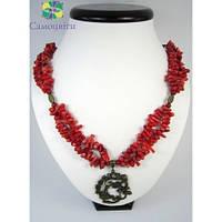 """Эксклюзивное ожерелье из коралла """"К счастью"""""""