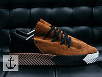 Мужские кроссовки Adidas by Alexander Wang Brown