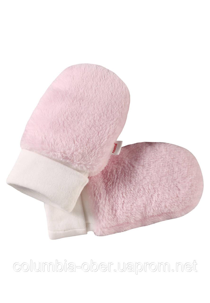Зимние варежки для девочки Reima Lepus 517158-4010. Размеры 0-1.