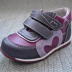Осінні черевики на дівчинку, Flamingo розмір 19 21 22