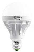 Лампа светодиодная G85 Е27 15W круглая- 8 LO
