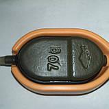 ГОДІВНИЦЯ Method Flat 70 грам + силіконова пресовалка . (Метод Флет), фото 2