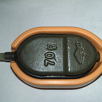 КОРМУШКА Method Flat 70 грамм + силиконовая пресовалка . (Метод Флэт)