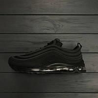 Кроссовки мужские Nike Air Max 97 black 15143 черные